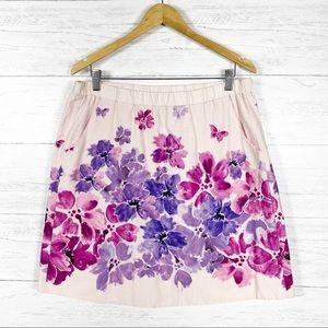 Edme & Esyllte • Pink Floral Skirt